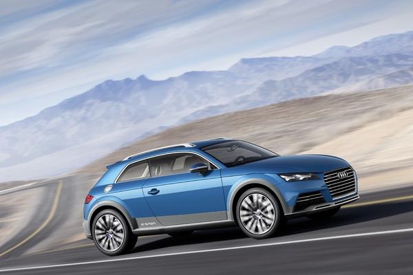 Audi concept allroad shooting brake