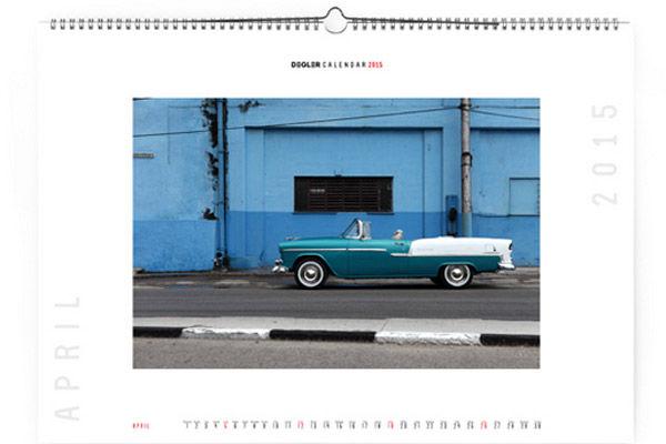 Calendrier Carros de Cuba Degler