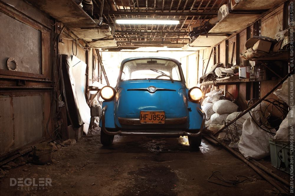 Calendrier Degler Carros de Cuba