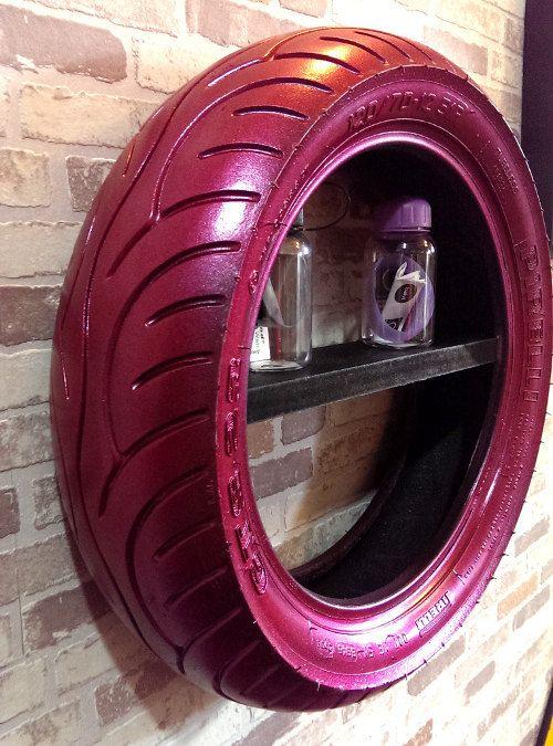 Étagères en pneus