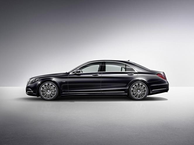 Nouvelle Mercedes S600